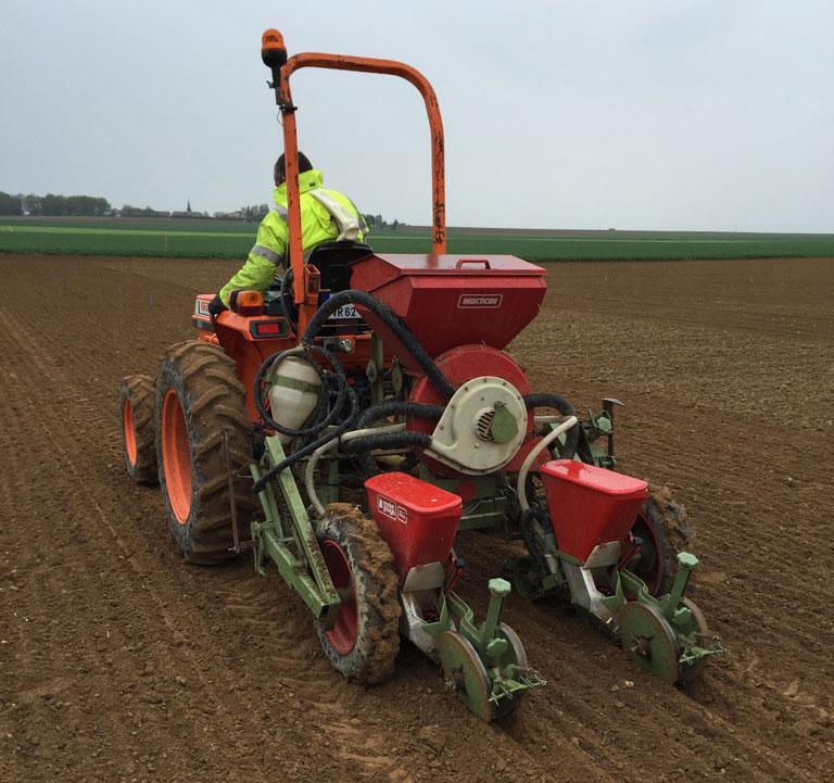 Des prestations du semis à la récolte